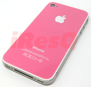 Pink iPhone 4 Back Glass / Backplate