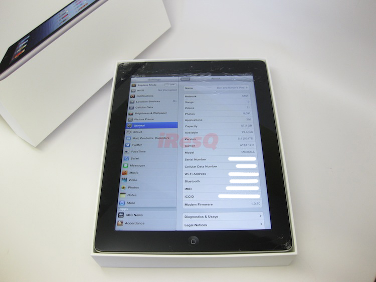 Broken iPad 3