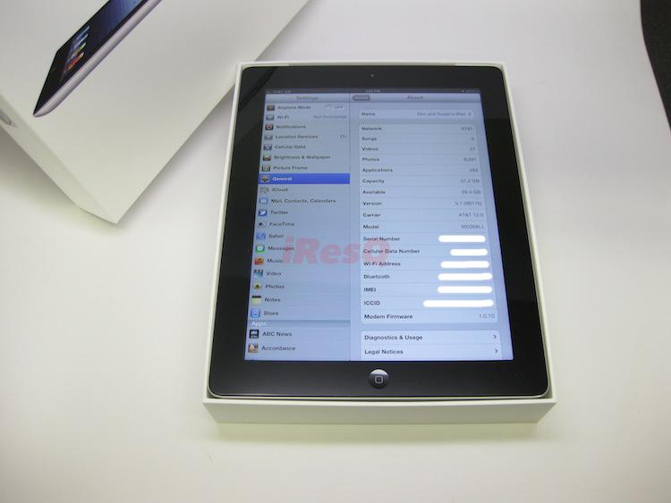 Repaired iPad 3