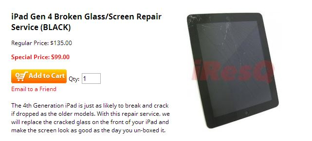 iPad Screen Repair Cost