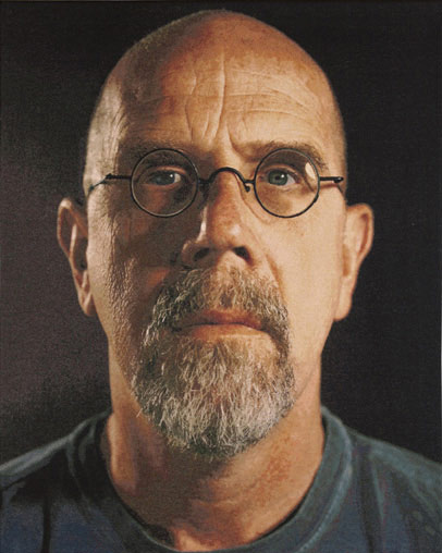 Photo-realism artist Chuck Close
