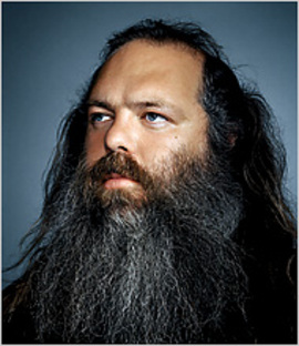 Rick Rubin, legendary record producer.