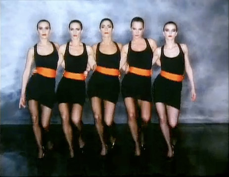 Don't let the lack of pasty mannequin women fool you- it's the same Robert Palmer.